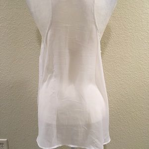 Divided by H&M Tops - ‼️SOLD‼️ H&M Sheer Twin Kitten Tank white Black